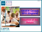 cesew census 2010 england
