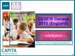 cesew census 2010 england82