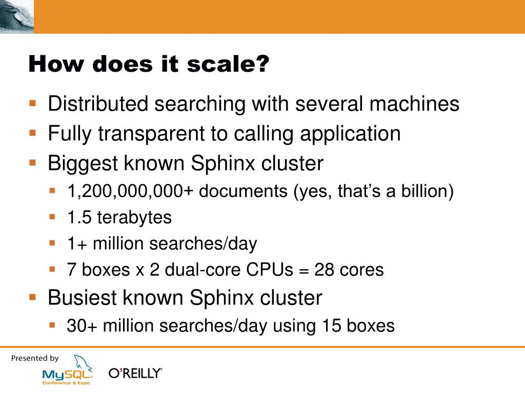 How does it scale?
