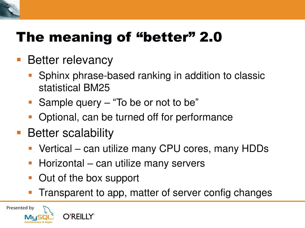 """The meaning of """"better"""" 2.0"""