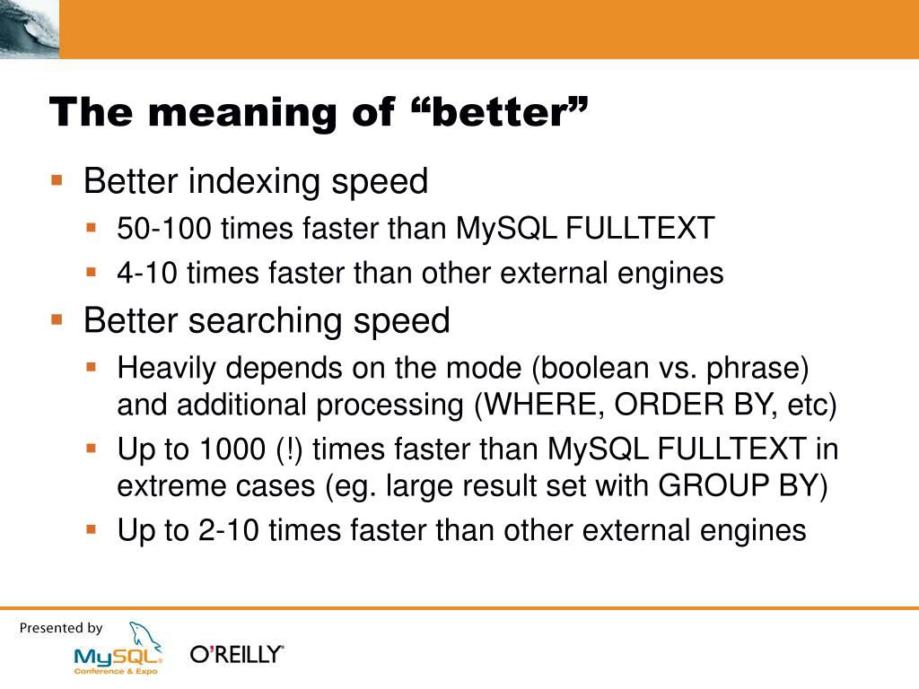 """The meaning of """"better"""""""