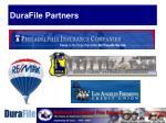 durafile partners