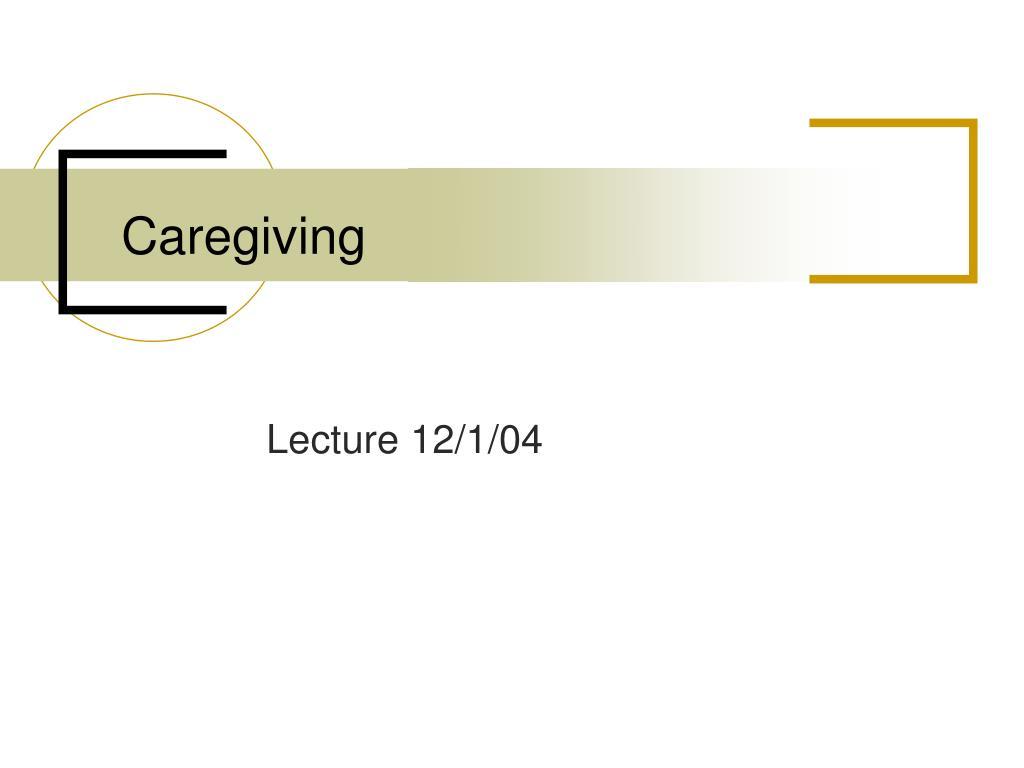 caregiving l.