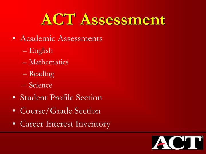 Act assessment