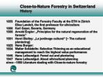 close to nature forestry in switzerland history10