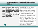 close to nature forestry in switzerland history9