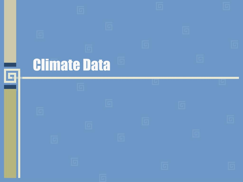 climate data l.