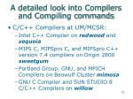 a detailed look into compilers and compiling commands