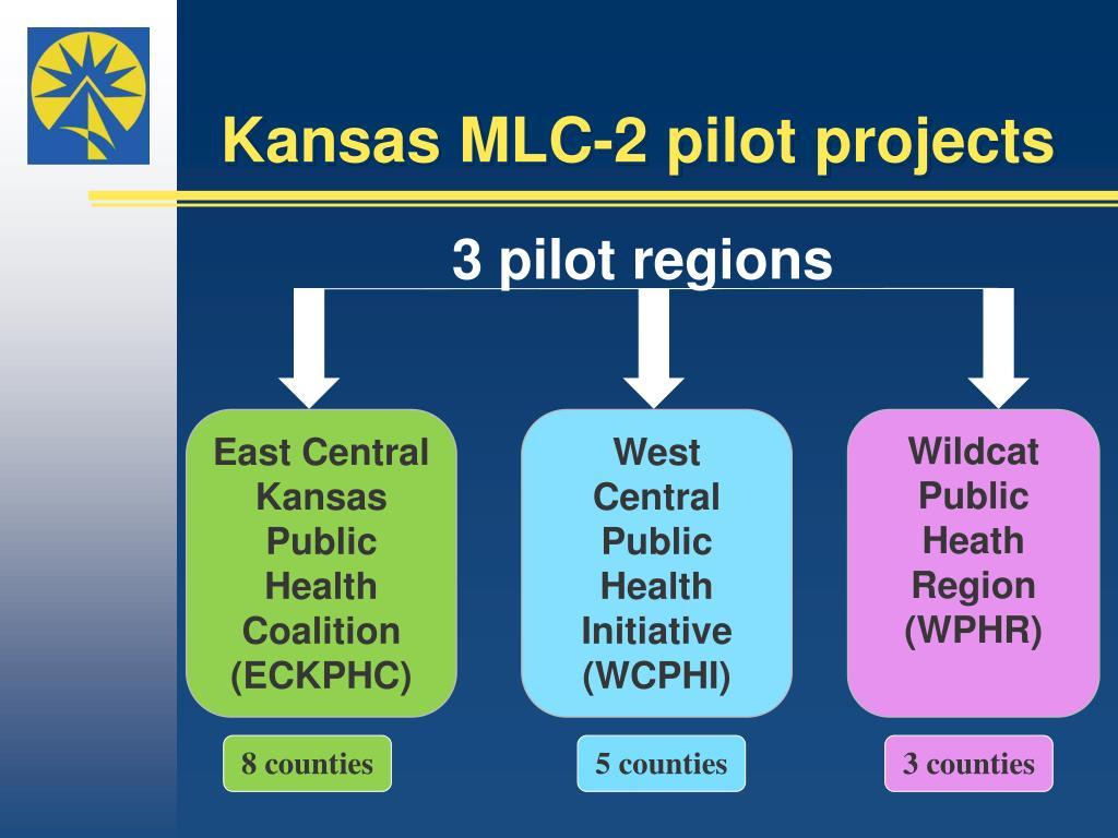 Kansas MLC-2 pilot projects