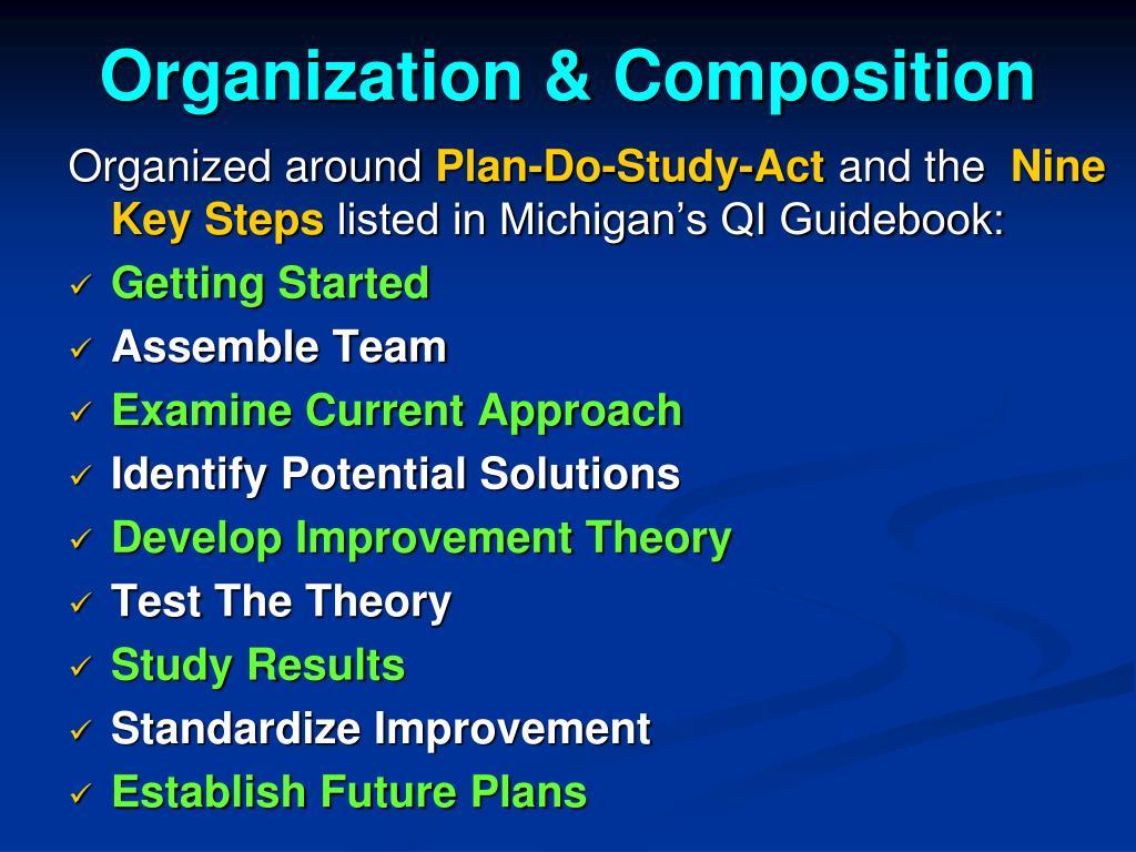 Organization & Composition