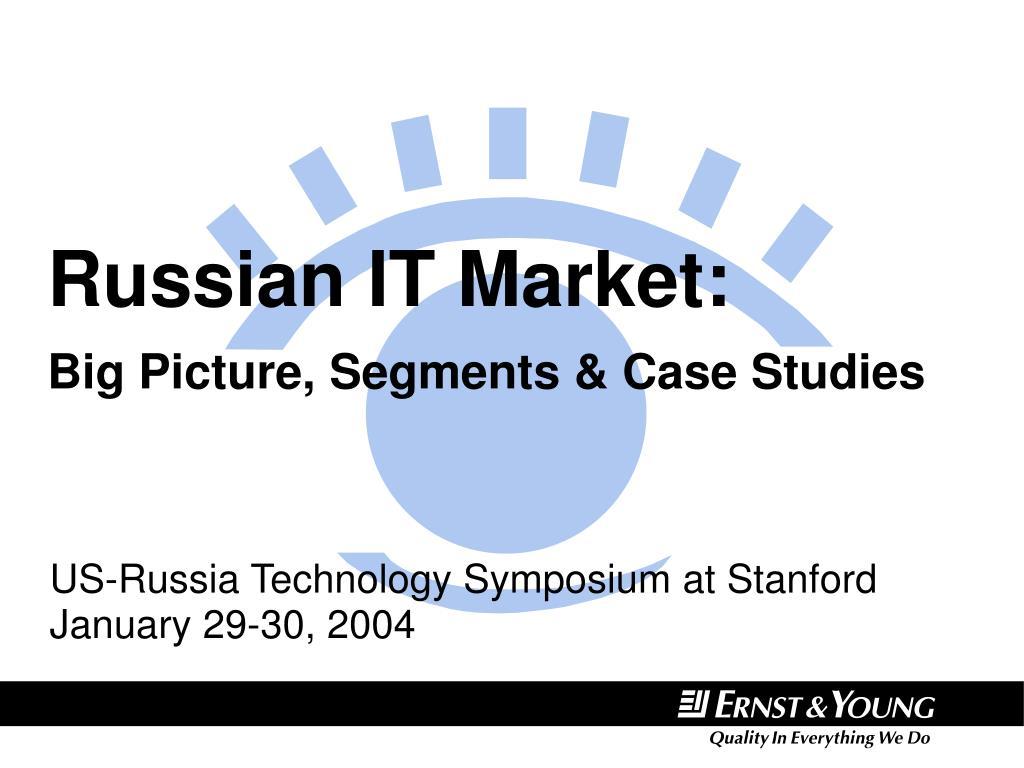 russian it market big picture segments case studies l.