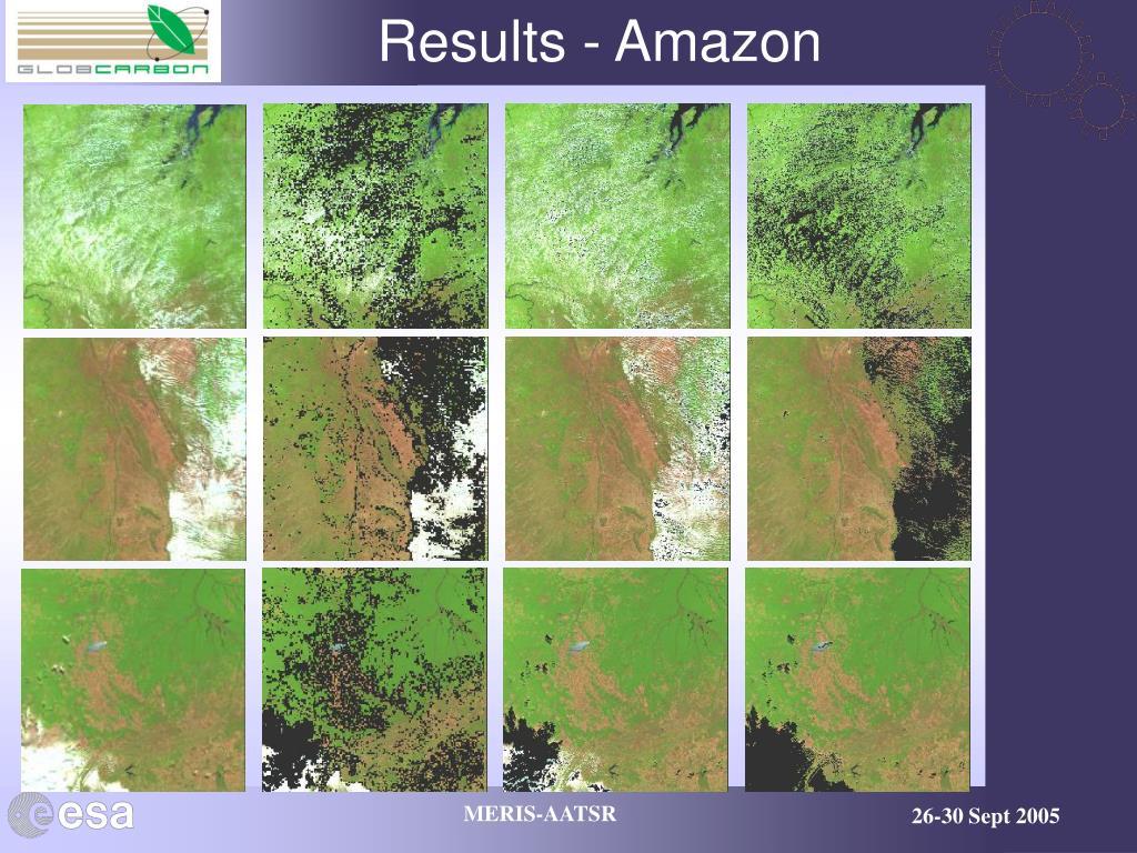 Results - Amazon
