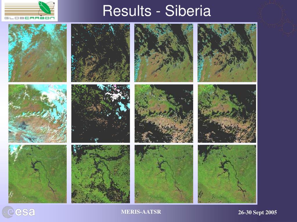 Results - Siberia