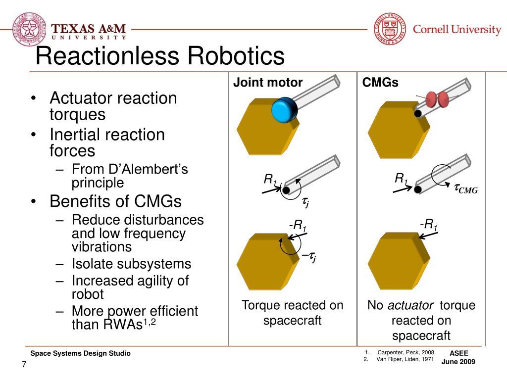 Reactionless Robotics