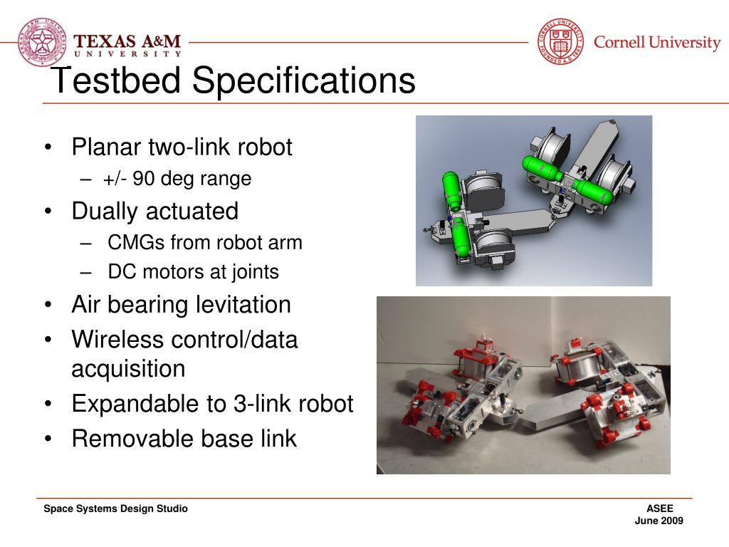 Testbed Specifications