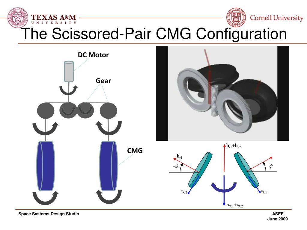 The Scissored-Pair CMG Configuration