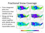 fractional snow coverage25