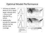 optimal model performance
