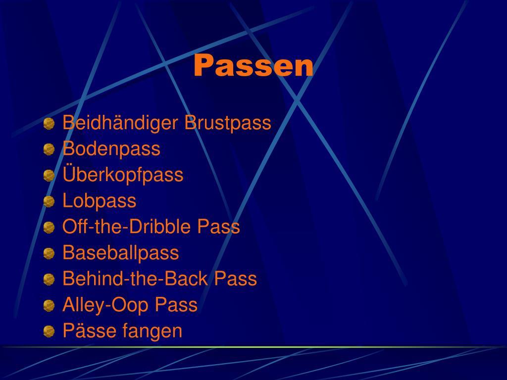 Passen