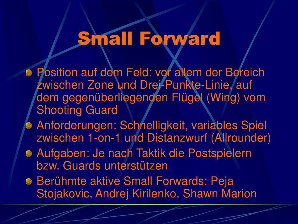 Small Forward