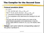 the compiler for the second case44