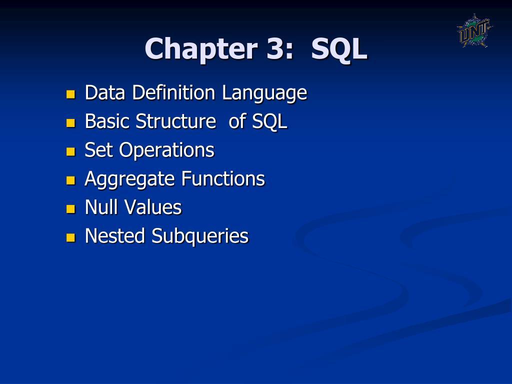 chapter 3 sql l.