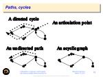 paths cycles