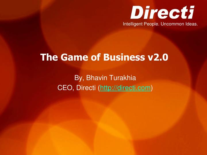 the game of business v2 0 n.