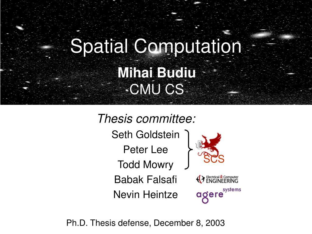 spatial computation l.