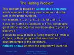 the halting problem26