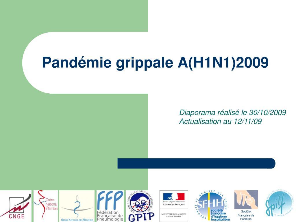 pand mie grippale a h1n1 2009 l.