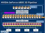 nvidia geforce 6800 3d pipeline
