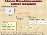 adiabatic computation simulates quantum computation