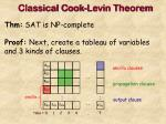 classical cook levin theorem14