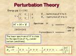perturbation theory23