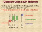 quantum cook levin theorem16