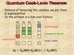 quantum cook levin theorem17