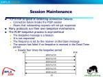 session maintenance