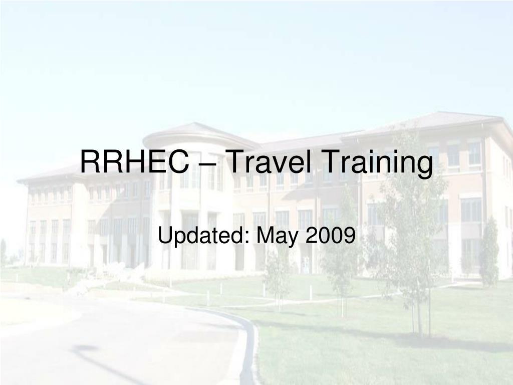 rrhec travel training l.