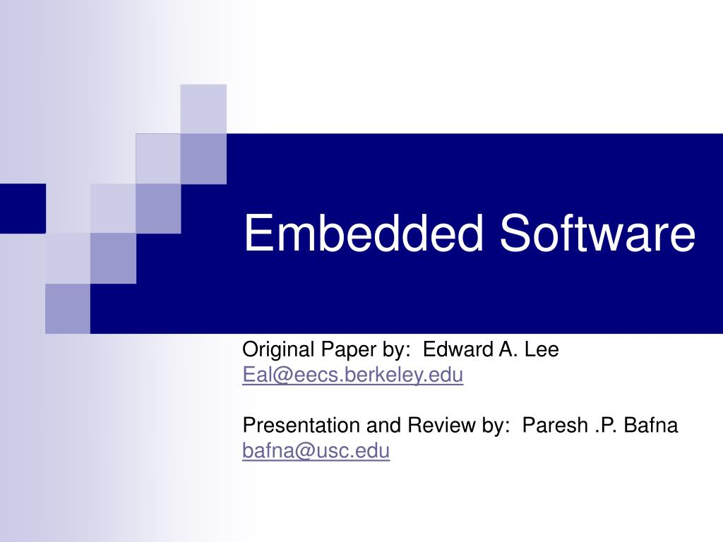 embedded software l.