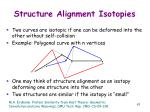 structure alignment isotopies