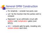general gmw construction