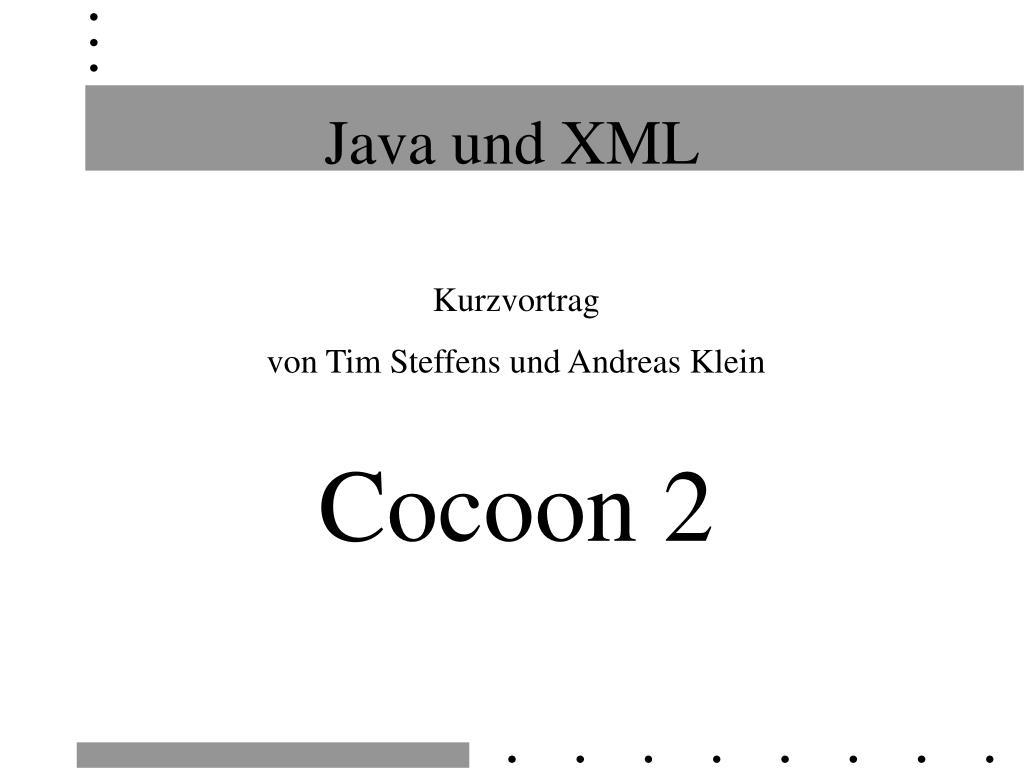 java und xml l.