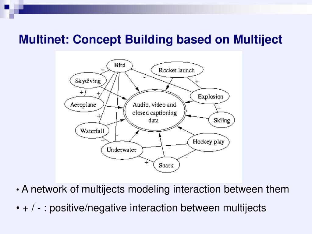 Multinet: Concept Building based on Multiject
