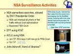 nsa surveillance activities