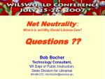 net neutrality what is it and why should libraries care questions