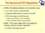 the internet and fcc regulations6