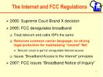 the internet and fcc regulations7