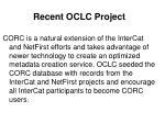 recent oclc project35