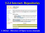 3 2 4 internet repositories23